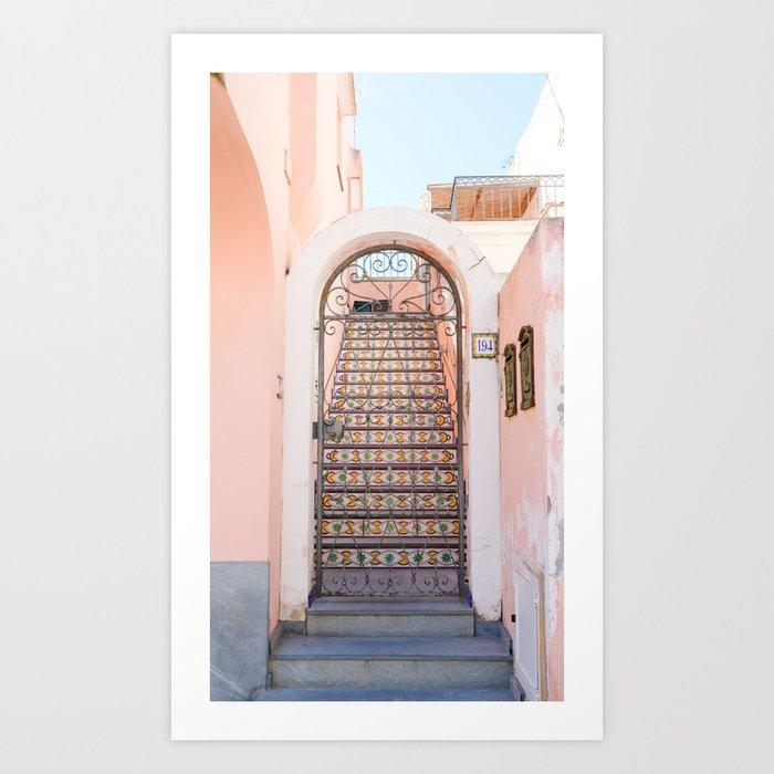 Anacapri Door 2 Art Print