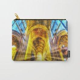 Bath Abbey Sun Rays Art Carry-All Pouch
