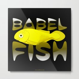 Babel fish Metal Print