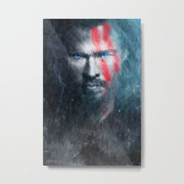 Thor Ragnarok Digital Impressionism Painting - Wall Art - Poster, Movie Poster, Grunge, Unique Print Metal Print
