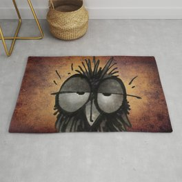 Sleepy Owl Rug