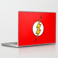 flash Laptop & iPad Skins featuring Flash by Merioris