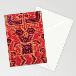 Three Monkeys Mantle Fragment Stationery Cards