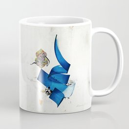 Arabic Calligraphy - Rumi - Journey Into Self Coffee Mug