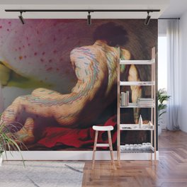 Patroclus and the Squid Wall Mural