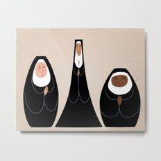 Three Nuns Metal Print