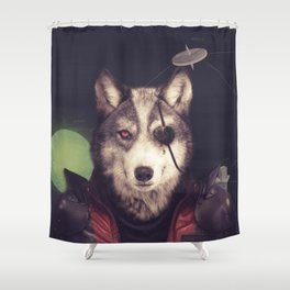 Star Team - Wolf Shower Curtain