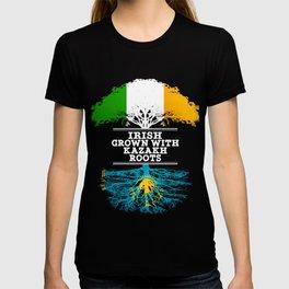 Irish Grown With Kazakh Roots T-shirt