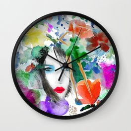 Girls, Fashion Wall Clock