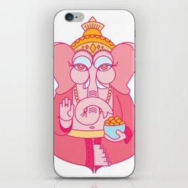Wise Ganesha iPhone Skin