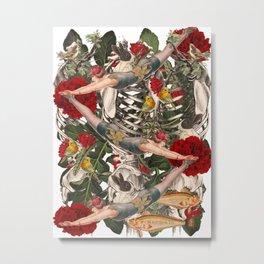 ANATOMY: CIRCUS  Metal Print