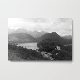 Mountains Magic Land Metal Print
