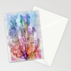 Independent tree  Stationery Cards