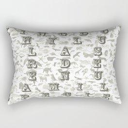 Taxonomy Rectangular Pillow