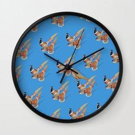 PHEASANTS Wall Clock