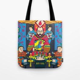 Pear God Tote Bag