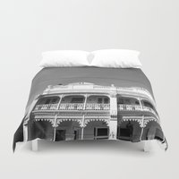 melbourne Duvet Covers featuring Melbourne by Hannah