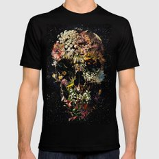 Smyrna Skull Black SMALL Mens Fitted Tee