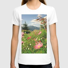 Summer Flower Field T-shirt