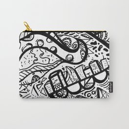 Pepperoni Tentacle doodle marker Carry-All Pouch