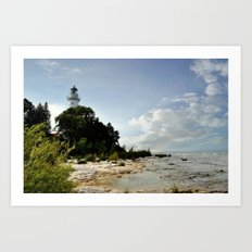 Cana Island Light Art Print