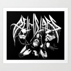 Dethstars Art Print