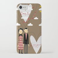 lovers iPhone & iPod Cases featuring Lovers by BruxaMagica