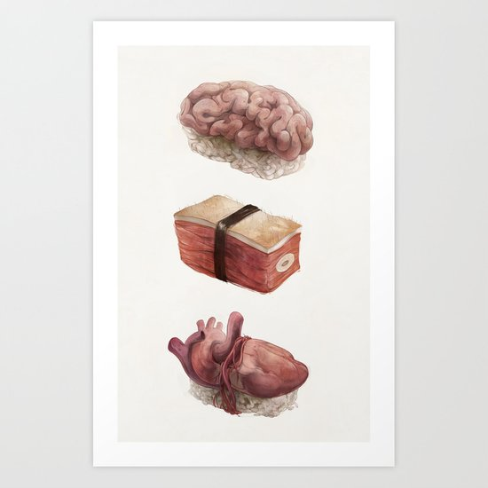 Fresh Flesh Art Print