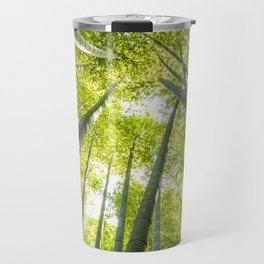 Bamboo forest in Japan Travel Mug