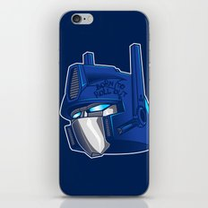 Full Metal Prime iPhone & iPod Skin