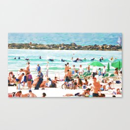 sea-shore Canvas Print