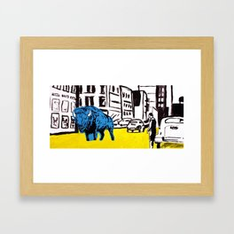 """American Buffalo"" Framed Art Print"