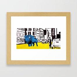 """American Buffalo"" Framed Art Print"
