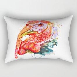Turkey Head Rectangular Pillow