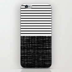 platno (black stripes) iPhone & iPod Skin
