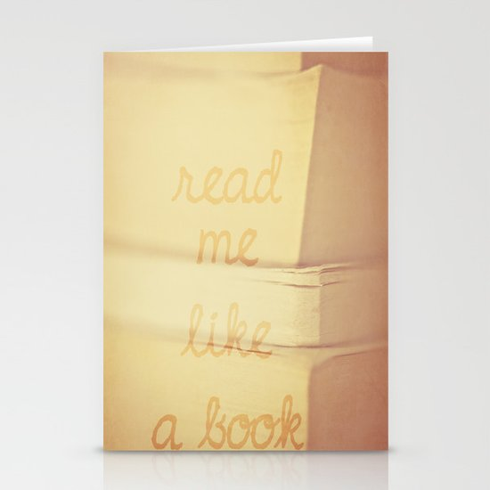 Read Me Stationery Cards