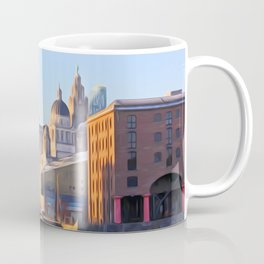 Albert Dock And the 3 Graces Coffee Mug