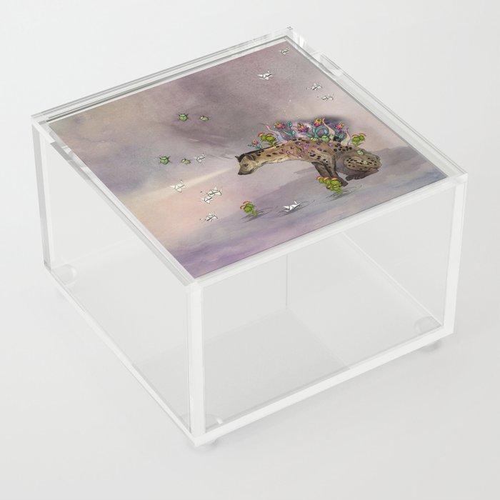 Stardust III: Hyena Acrylic Box