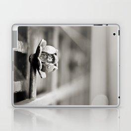 Fence B/W Laptop & iPad Skin