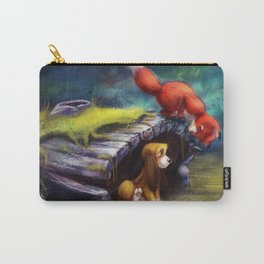 Fox and Hound Carry-All Pouch