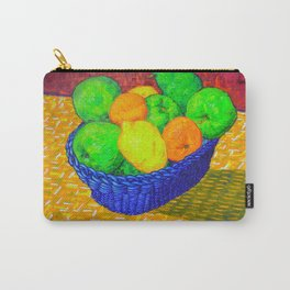Still Life with Apples, Lemons, Oranges, and Pear Carry-All Pouch