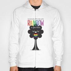 Rainbow Heart Hoody