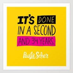 Paula Scher Art Print