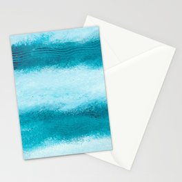 WAVES OF BLUE Stationery Cards