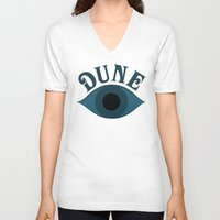 dune V-neck T-shirts featuring Dune by ephemerality