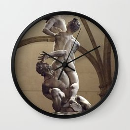 Amazing naked bodies Wall Clock