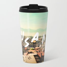 Lausanne city Travel Mug