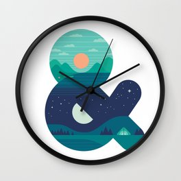 Day & Night Wall Clock