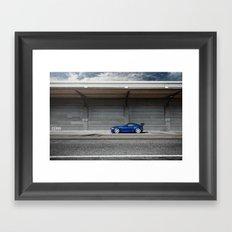 BMW Z4 M Coupe Framed Art Print