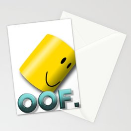 Oof noob Stationery Cards